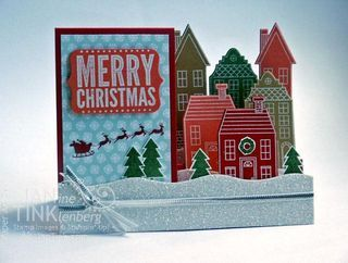 Stampin' Up! Holiday Home Side-Step Card