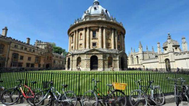 Universidad de Oxford.