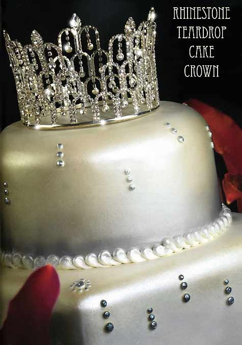 Cake Designs With Crown : crown cake topper Birthday cake ideas Pinterest ...