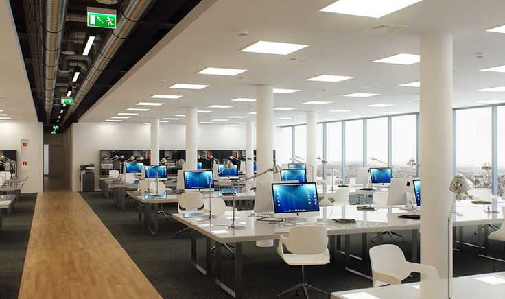 MILOO LIGHTING - Fittings for commercial facilities and offices LED | QUATTRO PT