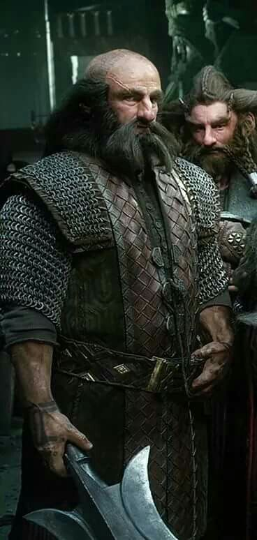 Dwalin and Nori in Erebor armor