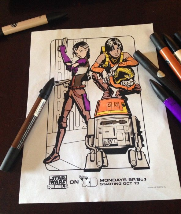 48 best Kids Movies images on Pinterest Birthdays, Coloring pages - best of chopper star wars coloring pages