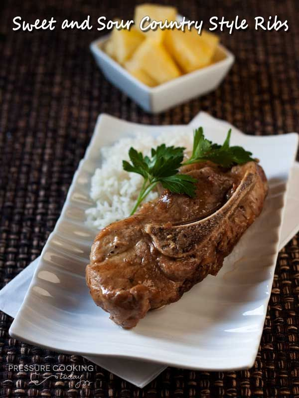 Sweet and Sour Country Style Ribs | Pressure Cooking Today