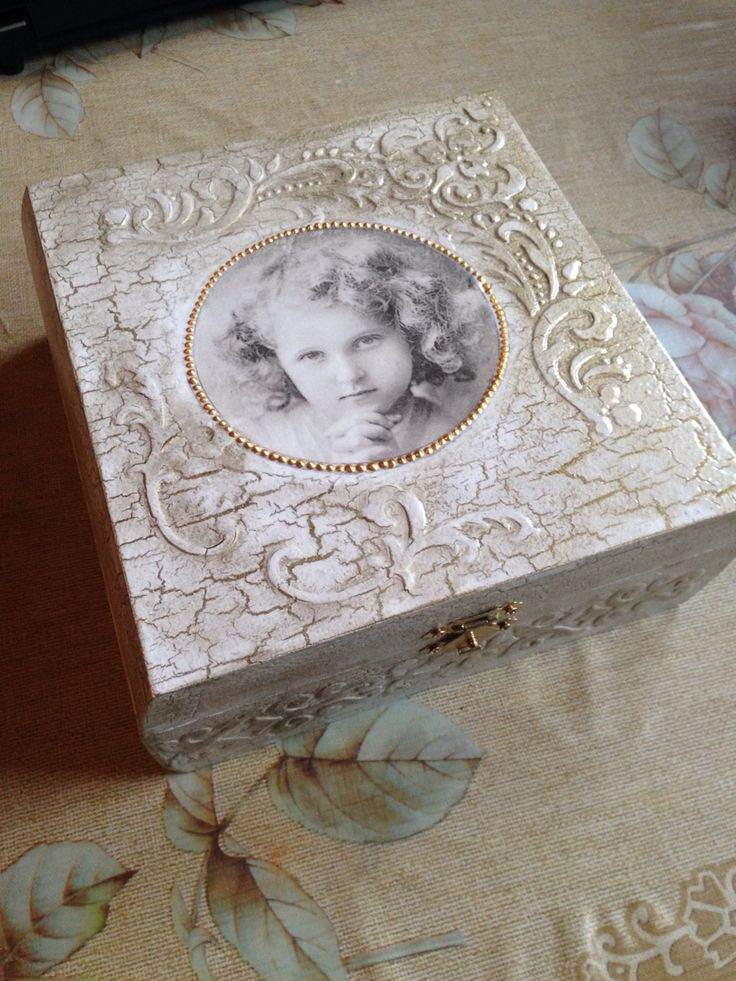 Decoupage,handmade box