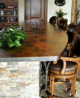 Copper Countertop by Dragon Forge, ltd.