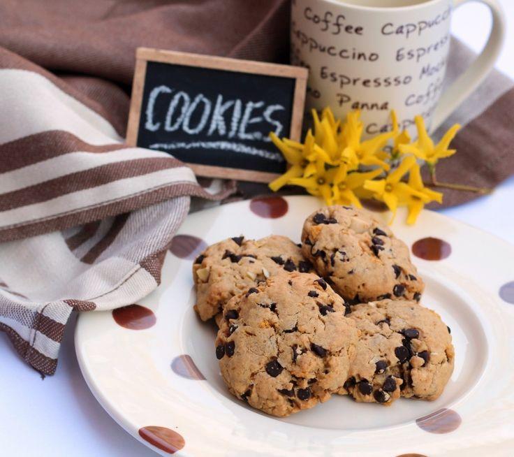 Cookies con esubero di pasta madre
