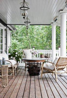 Härlig veranda!