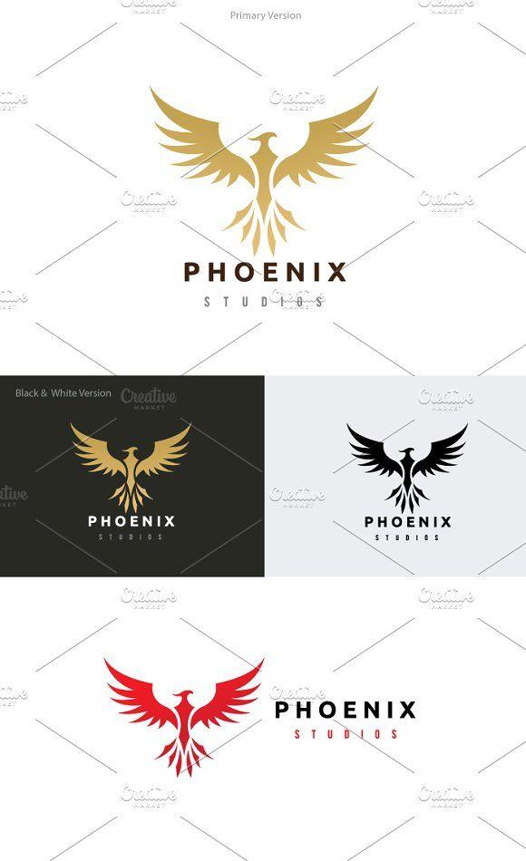 Phoenix Logo @creativework247
