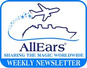 An unofficial electronic newsletter about The Walt Disney World Resort in Orlando, Florida, published weekly in conjunction with AllEars.Net, Deb's Unofficial Walt Disney World Information Guide; I've been getting the AllEars newsletter for 12 years now! LOVE!