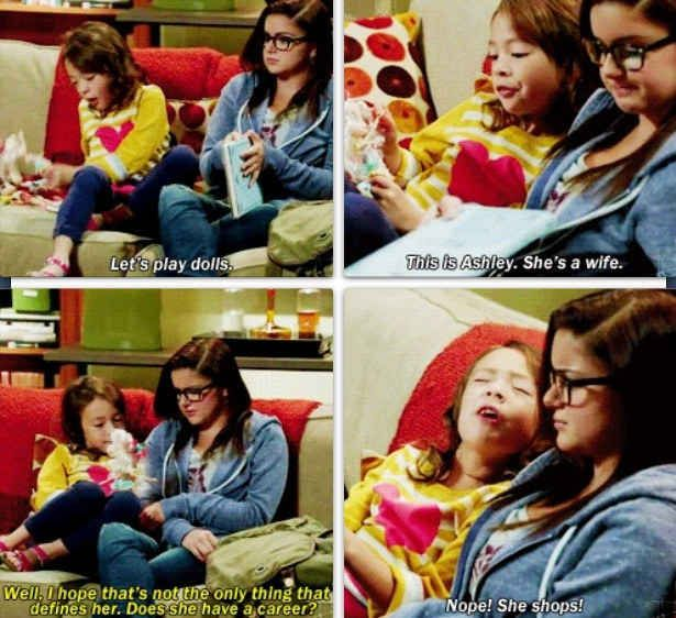 """She's Not Ashamed Or Embarrassed About What She Wants Out Of Life. 