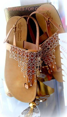 Χειροποίητα σανδάλια stories for queens απο γνήσιο δέρμα στολισμένα με κρύσταλλα .  Βρείτε τα στο παρακάτω σύνδεσμο: http://handmadecollectionqueens.com/δερματινα-σανδαλια-με-κρυσταλλα-2  #handmade #fashion #sandals #women #summer #footwear #storiesforqueens #χειροποιητο #μοδα #σανδαλια #γυναικα #καλοκαιρι #υποδηματα