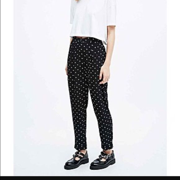 Cooperative by urban outfitters ditsy pant Size small urban outfitter ditsy print trouser pants. 25 1/2 inch length and 15 inch waist laying flat. Urban Outfitters Pants Trousers