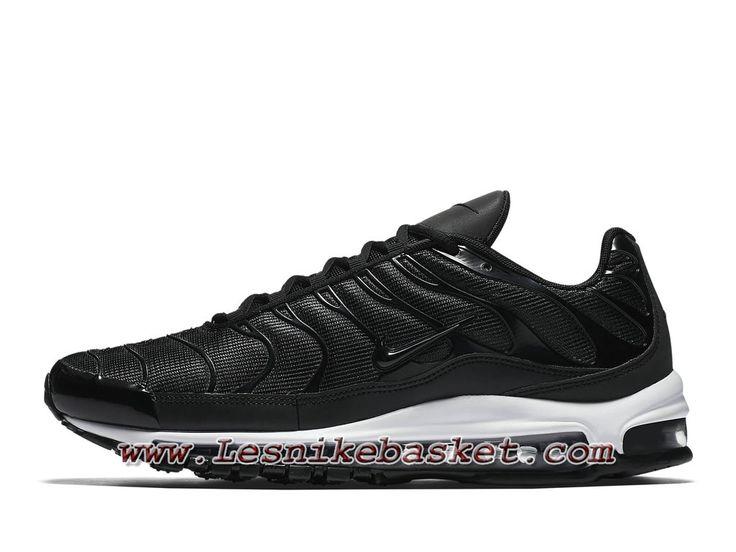 Runing NikeLab Air Max 97 Plus Noire AH8144_001 Chaussures Officiel NIke  2018 Pour Homme Noires