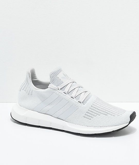 c41731da48964 adidas Swift Run Grey   Silver Shoes in 2019