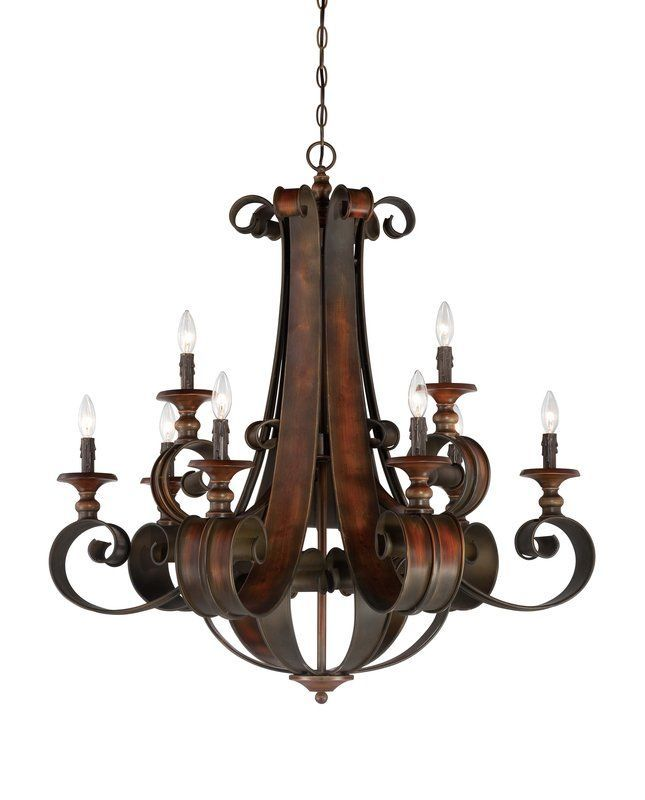 View The Jeremiah Lighting 28029 Seville Two Tier 9 Light Candle Style Chandelier 36 Inches
