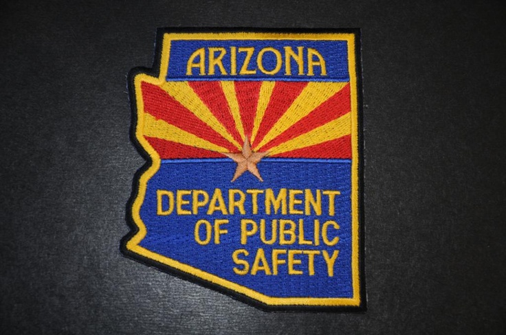 Arizona Department of Public Safety Highway Patrol Patch