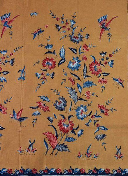 Batik cloth (kain panjang), 1950s-1970s, Cirebon, Java, Indonesia.