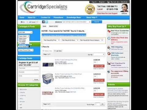 cartridgespecialists  Provides Cheapest Ink Cartridges & wholesale toners  of brand name hp, canon & brother. order online delivery same/next day.