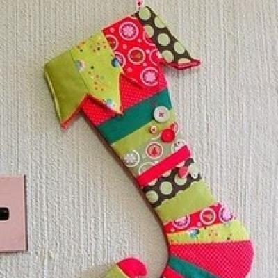 christmas stocking elf