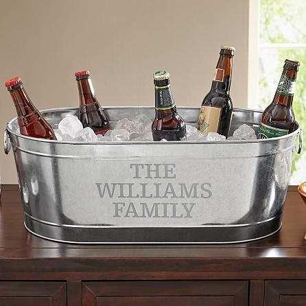Galvanized Beverage Tub | Personal Creations