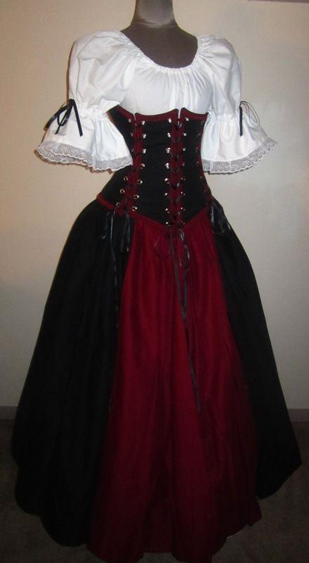 The Vixen - renaissance clothing medieval costume  ARRR!!!
