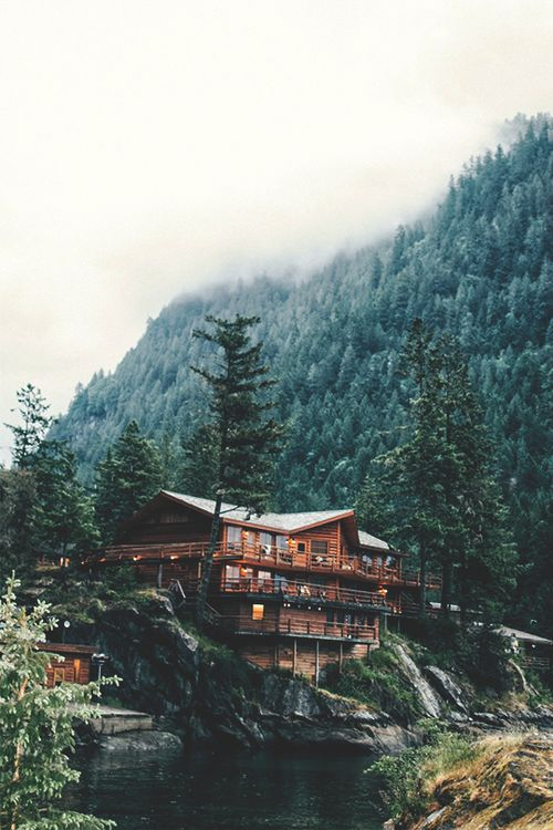 Imagen de forest, house, and nature