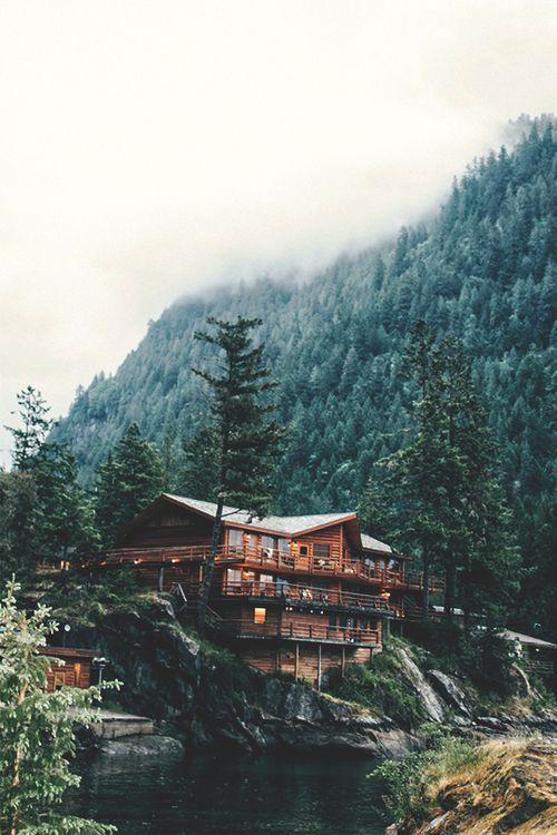 Imagen de forest, house, and nature