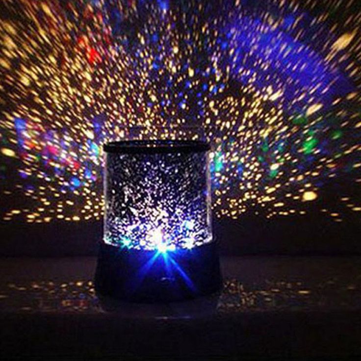 Epic Details about Flashing Colorful LED Lamp Master Star Sky Light Romantic Star Night Projector