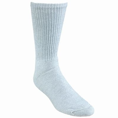 Wigwam Socks King Cotton Crew Grey Socks F1055 058