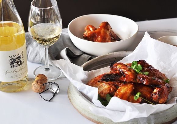 Sticky Ginger and Chilli Chicken Wings - Maggie Beer
