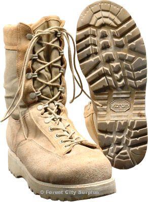 Real Desert Combat Boots