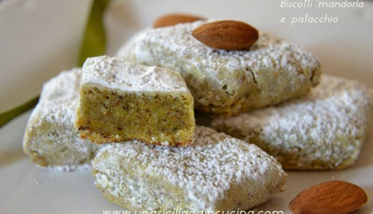 biscotti mandorla e pistacchio