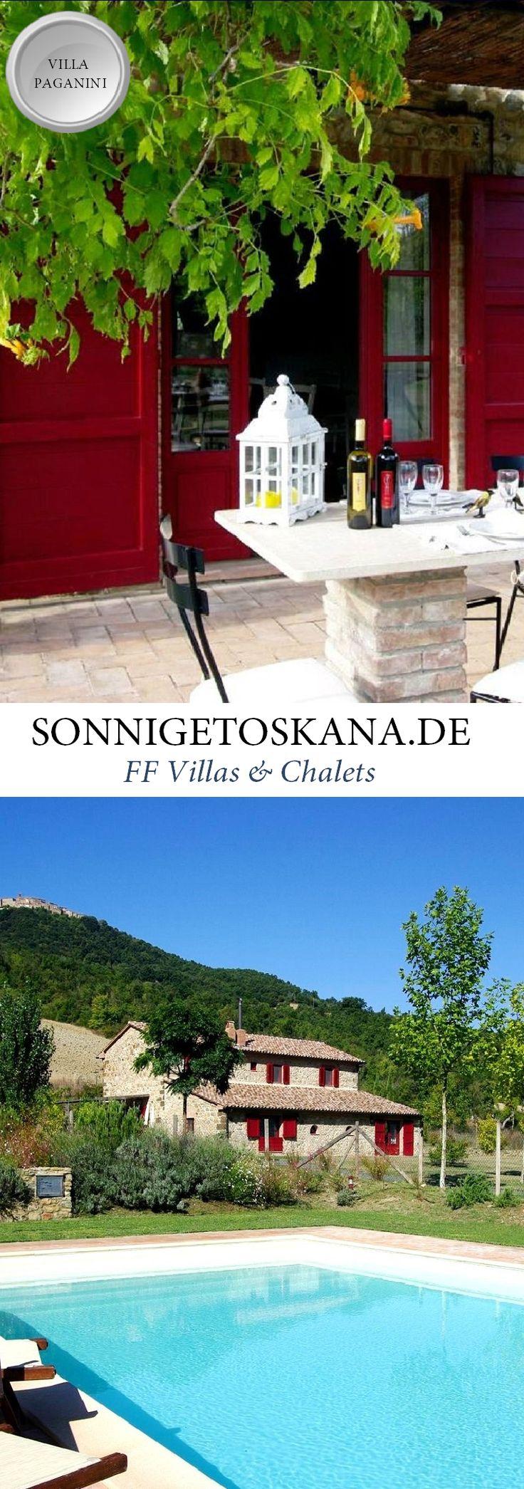 www.sonnigetoskana.de || VIlla Paganini || Italien - Toskana || Villa für 8-9…
