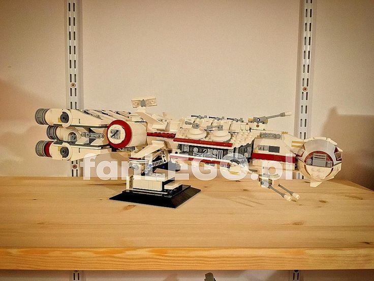 Tantive IV Lego 10198 pcs. 1408 2009  stand your own design   #lego #10198 #tantive #star #wars #starwars #starwarsfan #starwarslego #starfighter #bobafet #3cpo #r2d2 #princessleia #exclusive #legostagram #legophotography #legoclub #legoland #polybag #stormtrooper #legostore #instalego #legophoto #legoforlife #legoforever #apple #iphone6splus #fanLEGOpl by fanlegopl