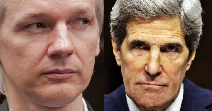 REPORT: JOHN KERRY DEMANDED ECUADOR STOP WIKILEAKS PUBLISHING CLINTON DOCUMENTS Assange's Internet cut off after release of Hillary's Goldman Sachs speeches