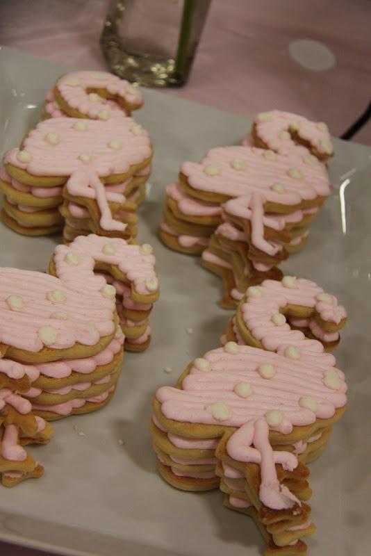 Another flamingo cookie...