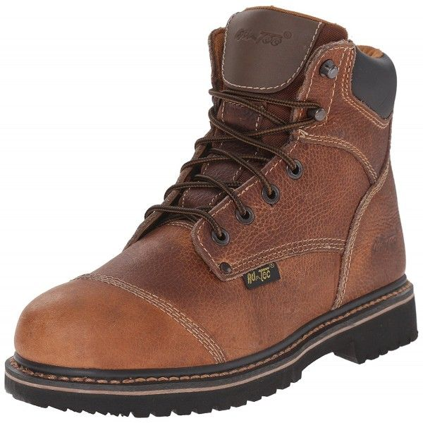 Men S 6 Inch Comfort Work Boot Light Brown C8115tm337d Mens Boots Fashion Boots Work Boots