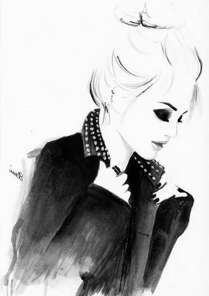 1001 Idees Pour Un Portrait Noir Et Blanc Des Images De Vie