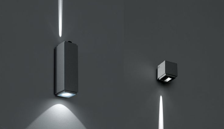 iPro Micro wall-mounted: up/down and light sliver lighting effects