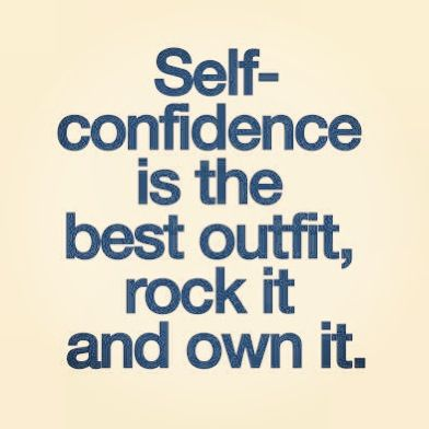 Rock your confidence!