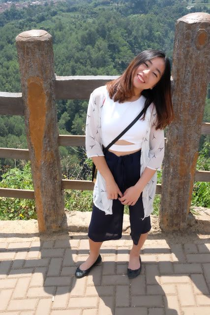 Culottes, Cutout and Cliffs #ootd #Bandung #Indonesia