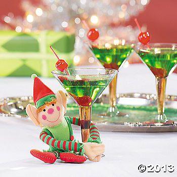 Elf Cocktail 1 oz. melon liqueur 2 oz. citrus flavored vodka 1 oz ...