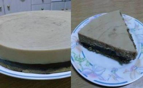 Tarta de turrón blando y chocolate para #Mycook http://www.mycook.es/receta/tarta-de-turron-blando-y-chocolate/