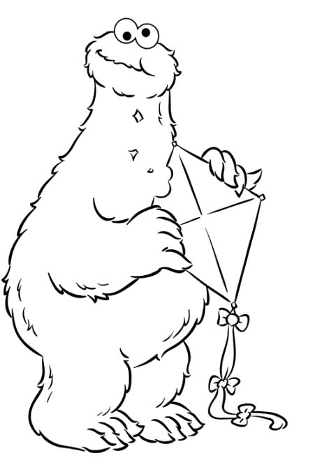 c is for cookie coloring page - 29 best images about kite coloring pages on pinterest