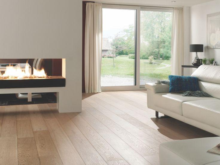 Dřevěná podlaha Dub Pure Lamett Oslo