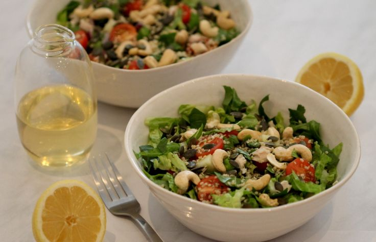 Protein Power Salad Bowl #southafrica