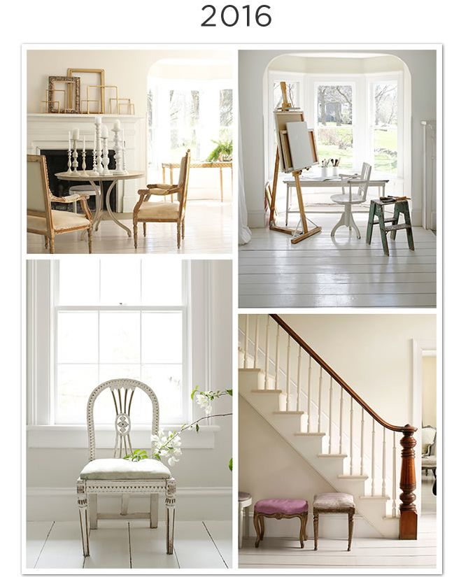 Love All Three Whites Here Is A Small Sample Of The Neutral Timeless Paint Colors In Benjamin Moore Color Trends 2016 Palette