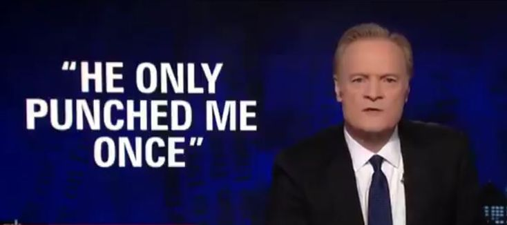 Lawrence O'Donnell destroyed the Trump White House for dragging their feet and trying to save the job of serial wife beater Rob Porter.