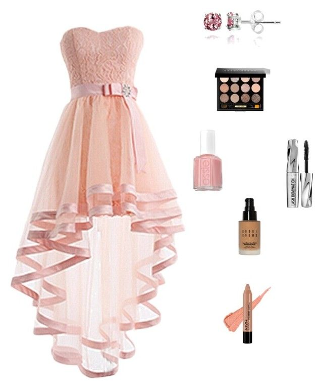 """""""Laying in a Field of flowers"""" by angelicarorie35 ❤ liked on Polyvore featuring beauty, NYX, Bobbi Brown Cosmetics, Bare Escentuals, Essie and Glitzy Rocks"""