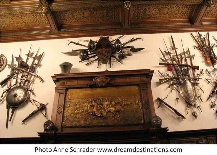 Arms Room Peles Castle Romania